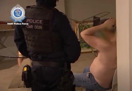 Former Australian swimmer Scott Miller arrested for drug trafficking as police find £1.12m of meth hidden in candles