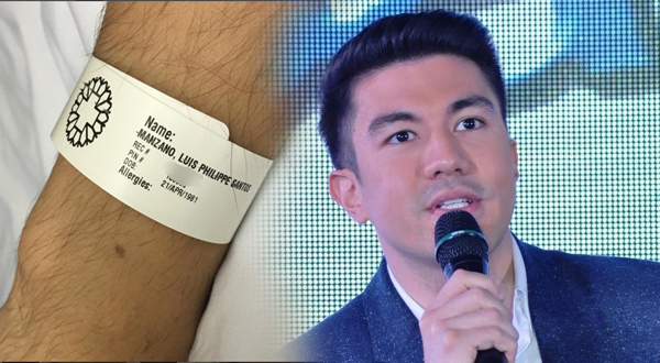 Luis Manzano gets hospitalized due to allergies