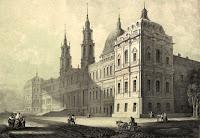Litografía del Palacio de Mafra, de João MacPhail.