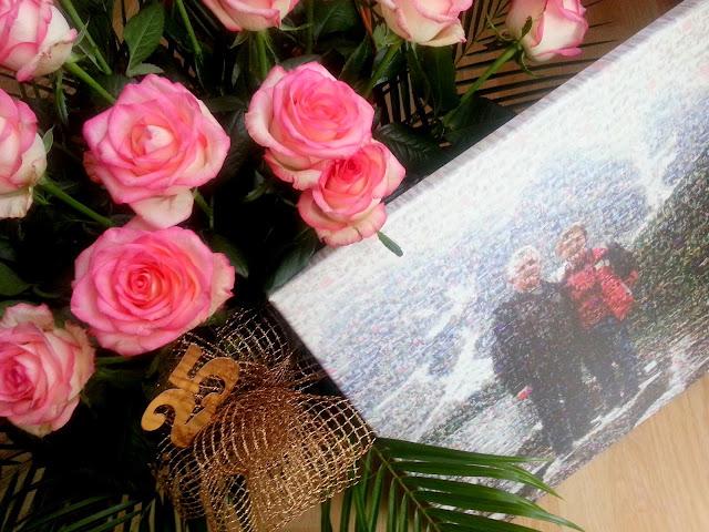 mozaika roze prezenty