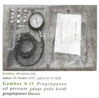 Menggunakan alat-alat ukur hidrolik