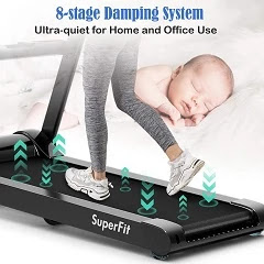 Goplus 2.25HP Folding Treadmill Reviews