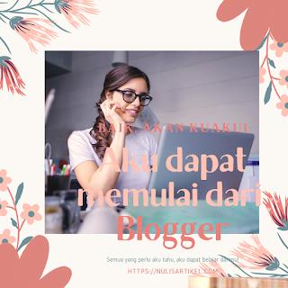 Kesalahan seorang blogger yang harus diperhatikan