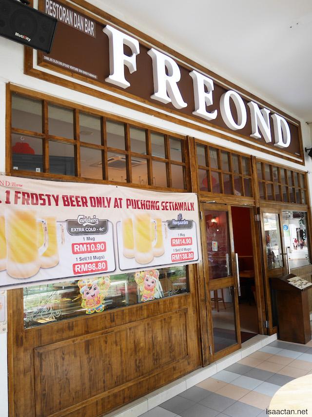 Freond Tavern, SetiaWalk Puchong