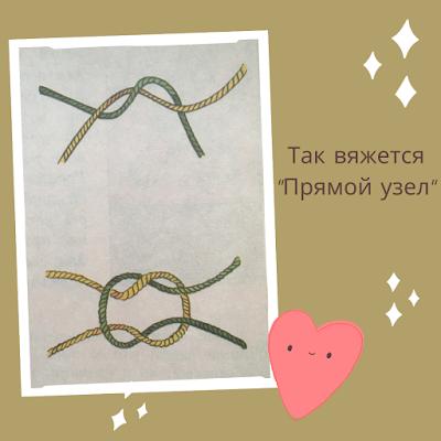 Как правильно завязать узел при вязании