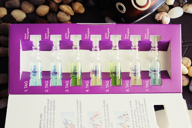 Balea 7 days ampoules treatment Wellness Program