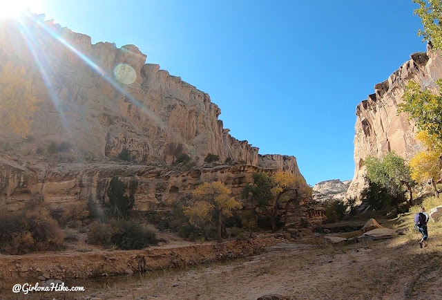 Hiking the Cottonwood Wash Trail, San Rafael Swell
