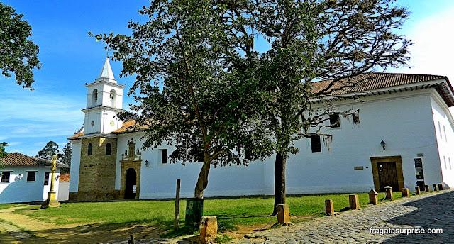 Plaza del Carmén, Centro Histórico de Villa de Leyva, Colômbia