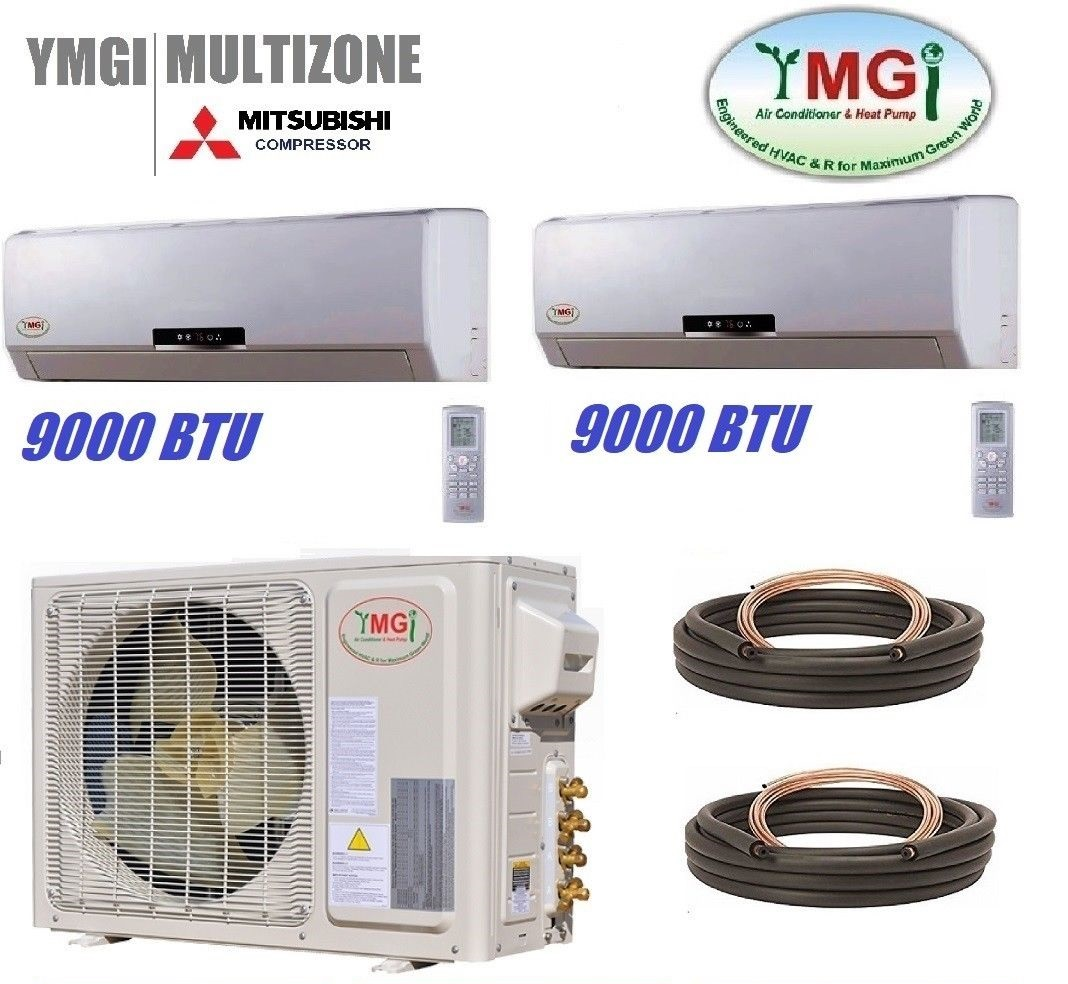 The Best Mini Split  Dual Zone Mini Split Heat Pump