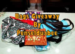 Bags Giveaway By Penselduabee