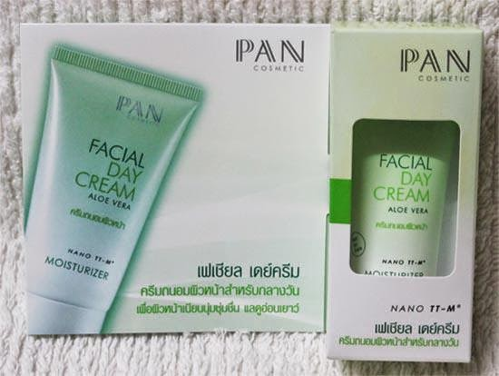 PAN facial day cream aloe vera