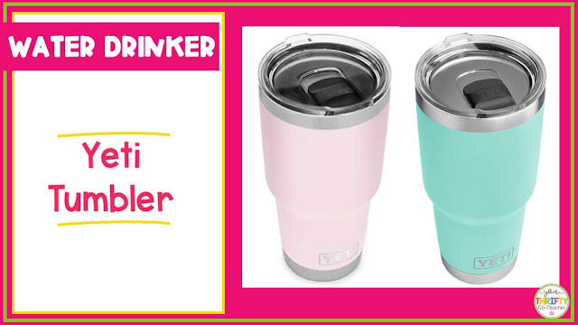 Looking for teacher gift ideas she will love? A Yeti tumbler is something she is sure to love.