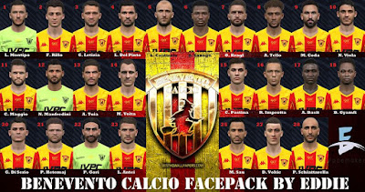 PES 2017 Facepack Benevento Calcio by Eddie