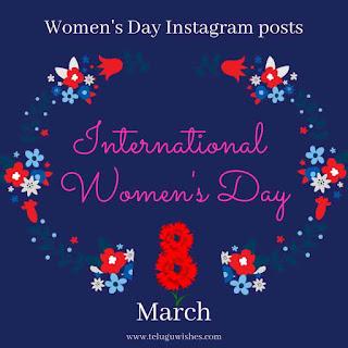 Women's Day Instagram Posts