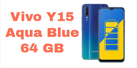 Vivo Y15 Mobiles Aqua Blue