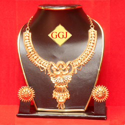 Necklace 3 Gifty Gold Jewellers B2b Exporter Of Gold Plted