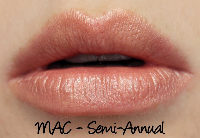 MAC Monday: Graphic Garden - Semi-Annual Lipstick Swatches & Review