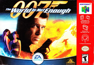 Jogo 007 The World is Not Enough N64