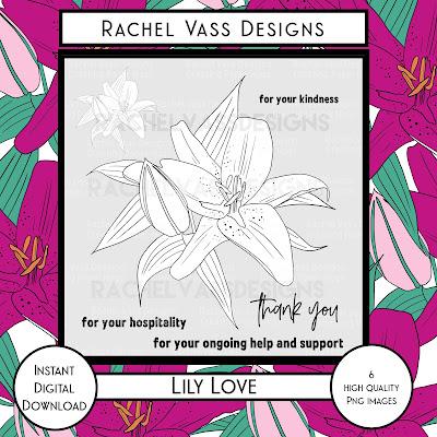 Rachel Vass Designs - Lily Love