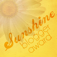 The Sunshine Blogger Award tagged by Unni Anje.