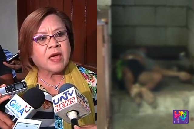 De Lima on killings of drug suspects: Mga alagad ng batas na nilalabag ang batas
