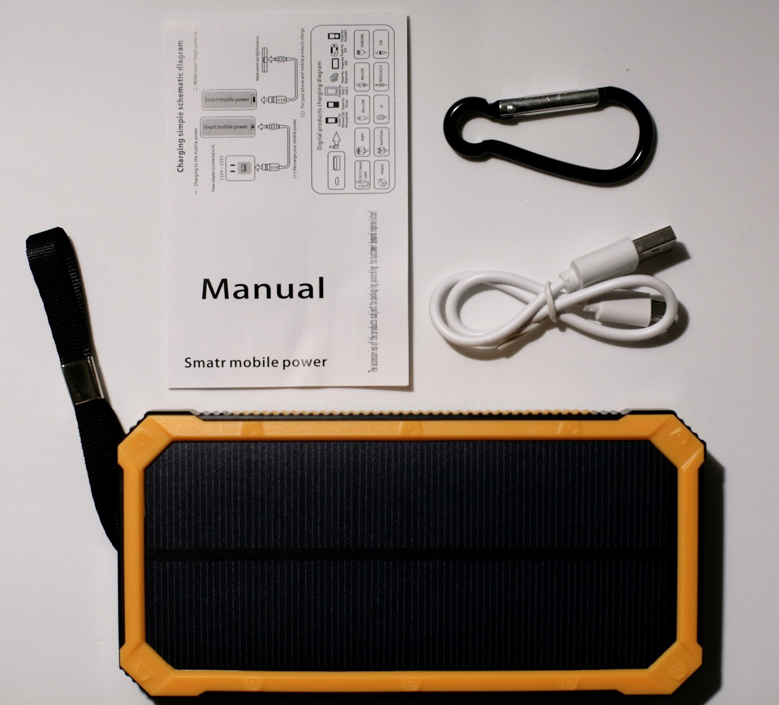 Tollcuudda Dyhk01 10000mah Solar Power Bank Review 725 Efficient Usb Schematic Diagram Often When You Buy A What See Is Not Get There Shady Grey Market Of Banks On Ebay And Amazon That Claim To Have