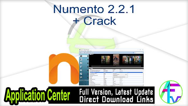 Numento 2.2.1 + Crack
