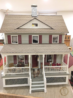 Unique Doll House with My Minibots - Robin Davis Studio