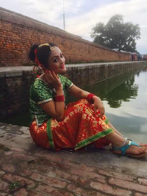 Janwi Bohara Nepali Actress Model Hot Sexy Cute