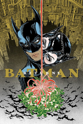Batman Returns Standard Edition Screen Print by Yuko Shimizu x Dark Hall Mansion