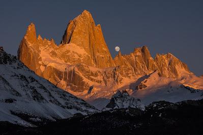 Il massiccio del Fitz Roy durante il viaggio in Patagonia