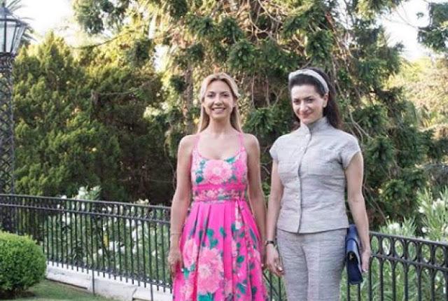 Argentina recibe a Anna Hakobyan, esposa del primer ministro armenio