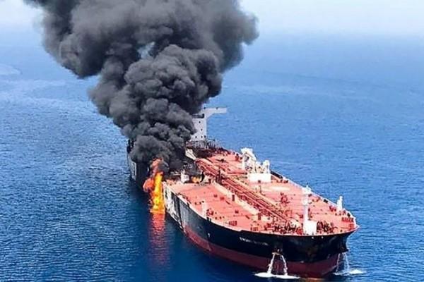 Serangan ke Dua Tanker di Teluk Oman Putra Mahkota Arab Salahkan Iran