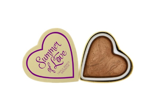 Iluminator bronzant Makeup Revolution London Blushing Hearts, Hot Summer of Love, 10 g