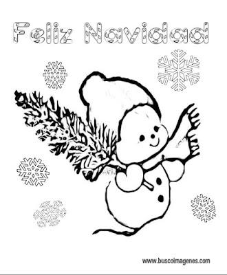 Muñecos de Nieve en navidad
