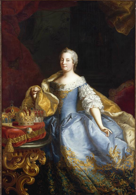 Martin Van Meytens Ii Portrait Of The Empress