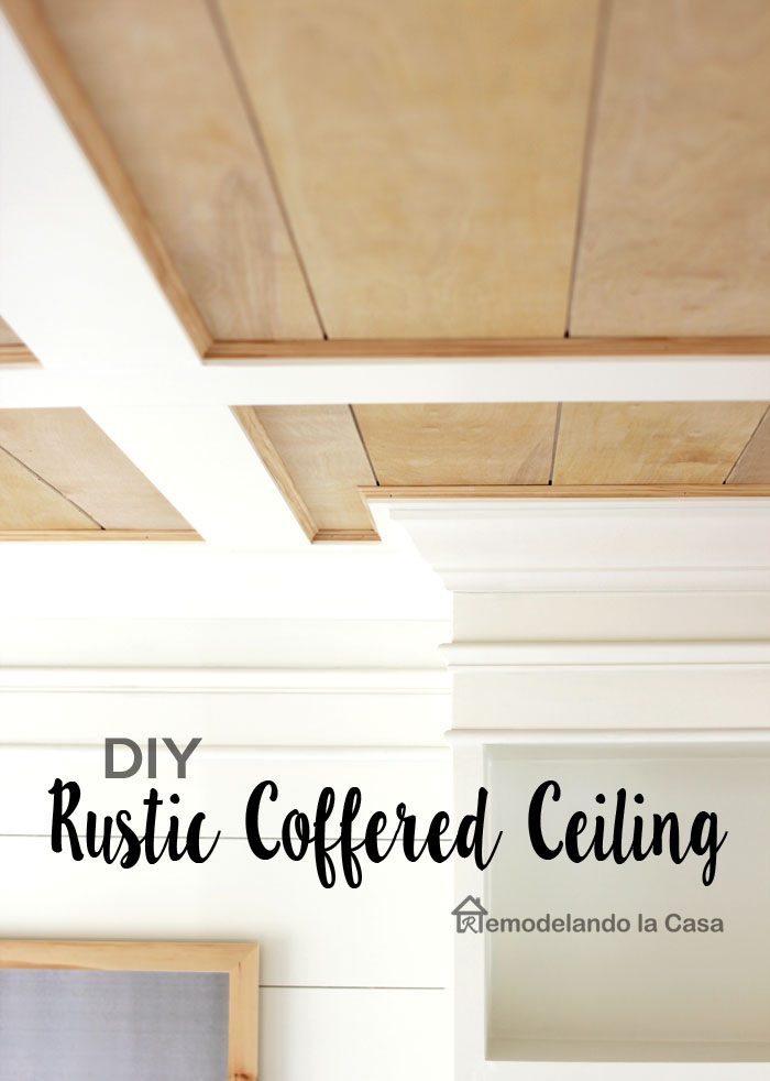 wooden tone and white flat coffered ceiling installation instructions.