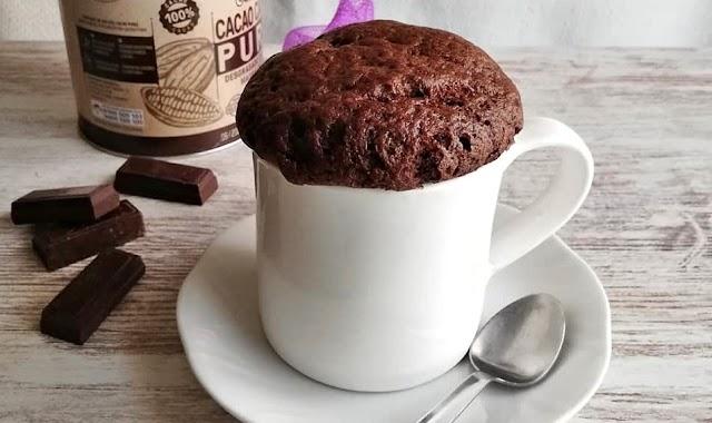 Mug cake de cacao - Healthy