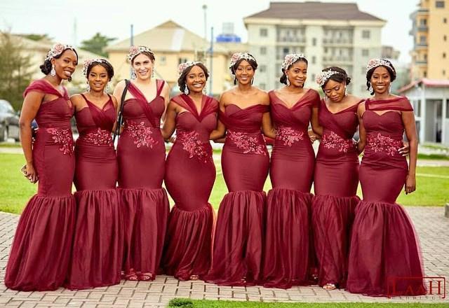 WOW!!! 2018 Bridesmaid Dresses For Nigerian Women