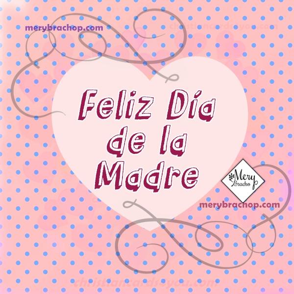 Video corto de feliz día de las madres con imágenes cristianas para mamá en su bello día por Mery Bracho.  Frases de reflexión para madres.