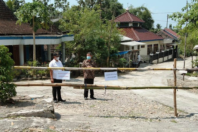 Puluhan Warga Terimbas Klaster <i>Tilik</i>, Desa Garangan Di<i>lockdown</i>