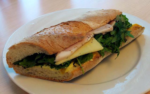 Shaky Isles, Newmarket, New Zealand, ham baguette