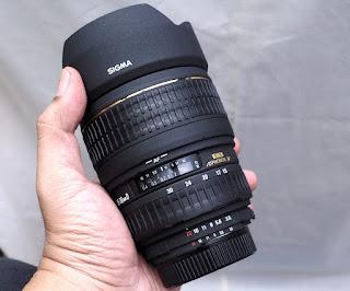 Lensa Sigma 15-30mm Wide For Nikon