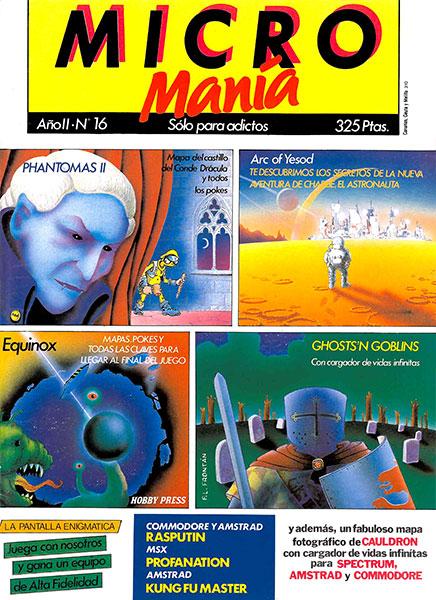 Revista Micromanía Número 16