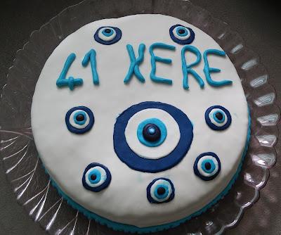 doğum günü pastası 41 yaş
