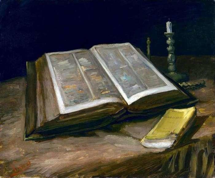 Natureza morta com a Bíblia de Vincent Van Gogh