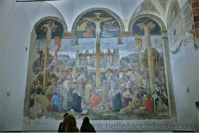 Crocifissione, Giovanni Donato da Montorfano
