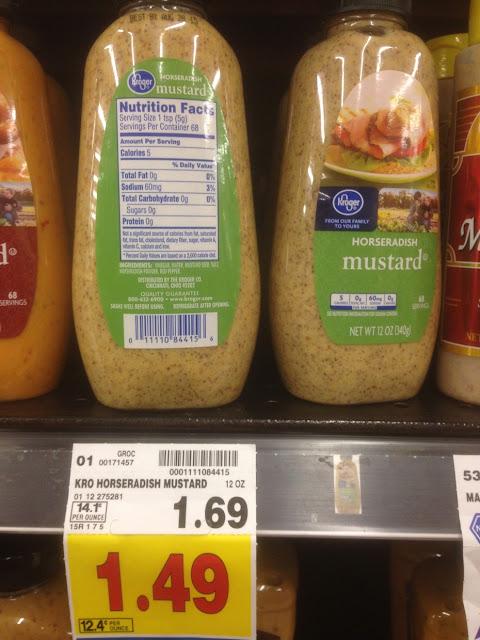 Horseradish Mustard - Kroger