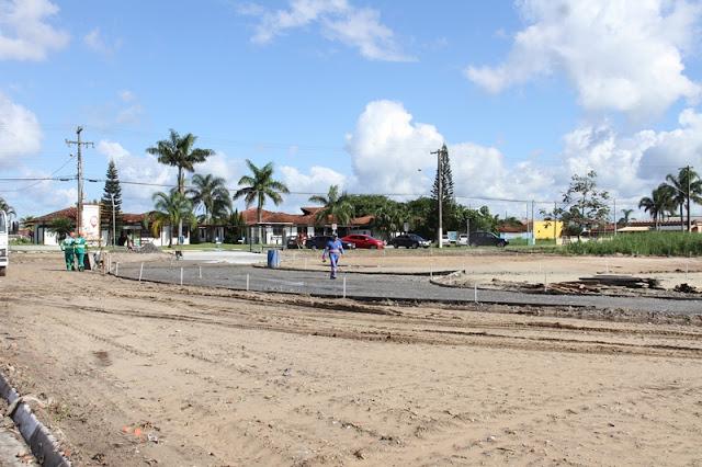 Obras do Parque Linear têm o objetivo de valorizar o Rio Candapuí e criar uma nova área de lazer, turismo e esportes na cidade