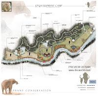 desain wisata gajah